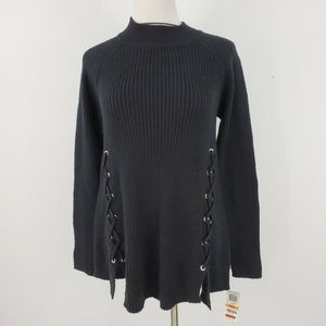 Style&Co. Pullover Sweater Small Long Sleeve Black